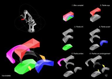 Formwork toolpath