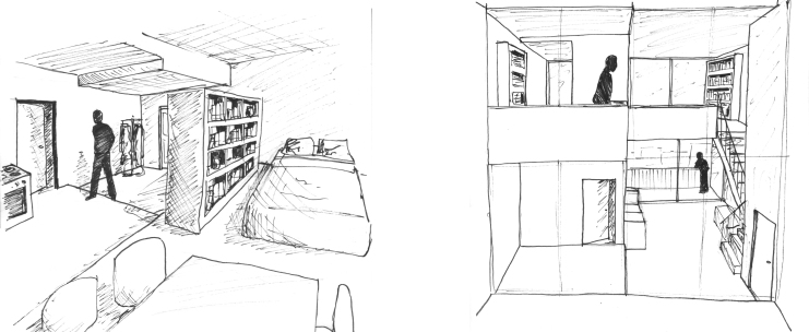 Sketch 2 (appartments)